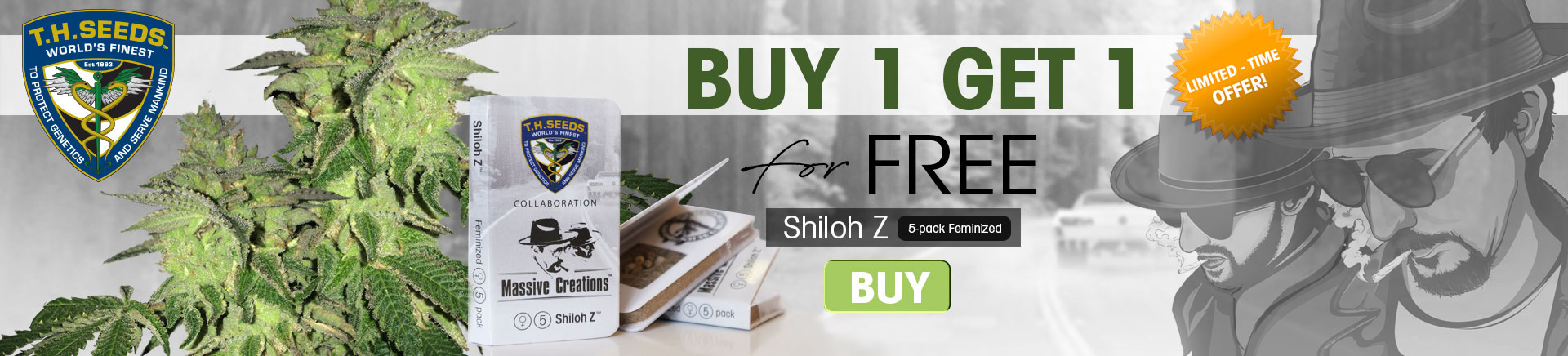 TH Seeds Shiloh-Z buy one get one frewe